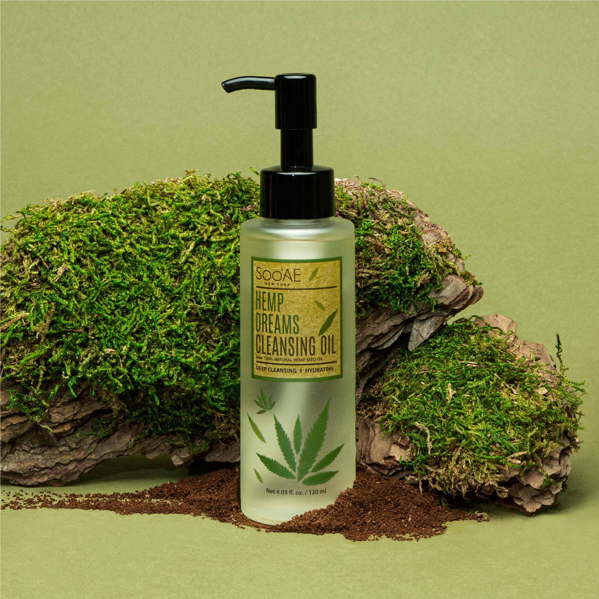 Hemp Dreams Cleansing Oil Green Clean Beauty Simple Skincare From The Best Of Nature