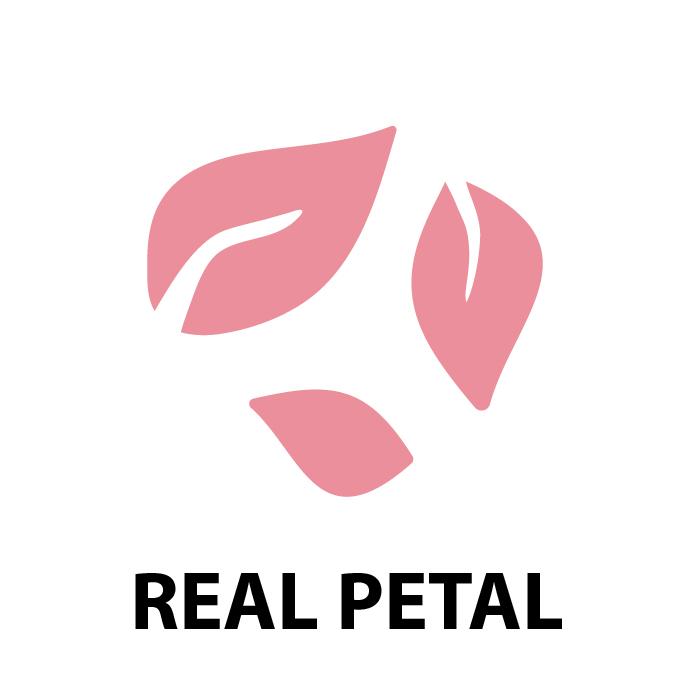 Real petal Mask
